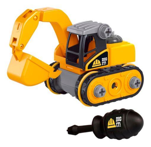 DIY Toy Construction Vehicles Set, Assorted, 2-pk Product image