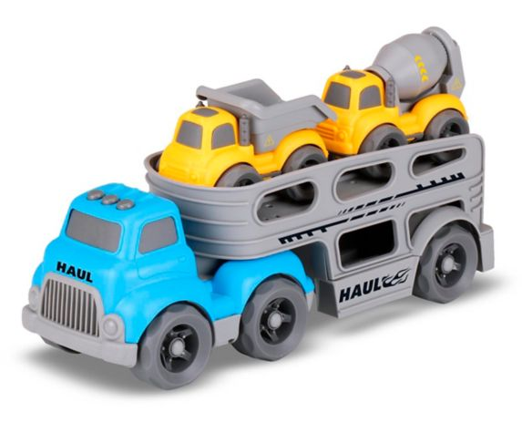 Lights & Sounds Preschool Car Transporter Toy Vehicle, Assorted Product image
