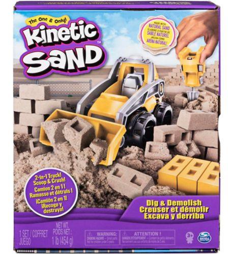 Kinetic Sand Dig & Demolish Truck Playset