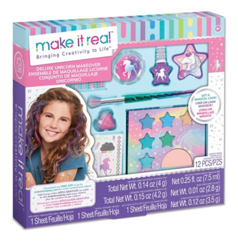 Make It Real Deluxe Unicorn Makeover Set Product image