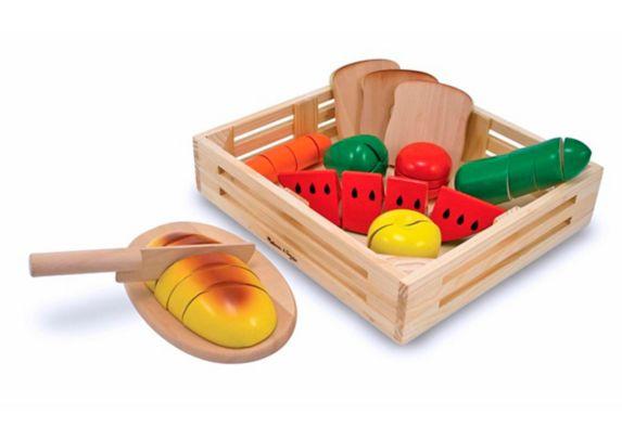 Melissa & Doug Toy Cutting Food Set Product image