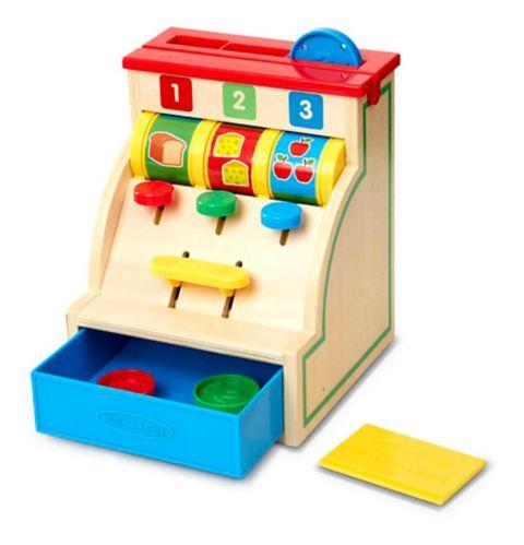 Melissa & Doug Spin & Swipe Cash Toy Register