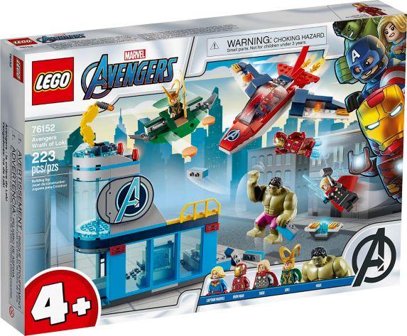 LEGO<sup>MD</sup> Marvel Avengers, La colère de Loki – 76152