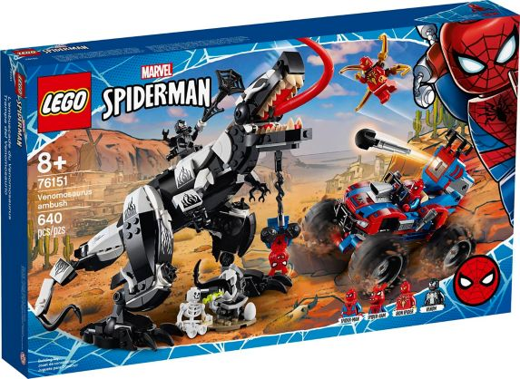 LEGO® Marvel Spider-Man Venomosaurus Ambush - 76151