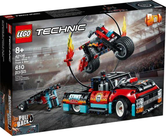 LEGO<sup>MD</sup> Technic<sup>MC</sup>, spectacle de cascades du camion et de la moto, 42106