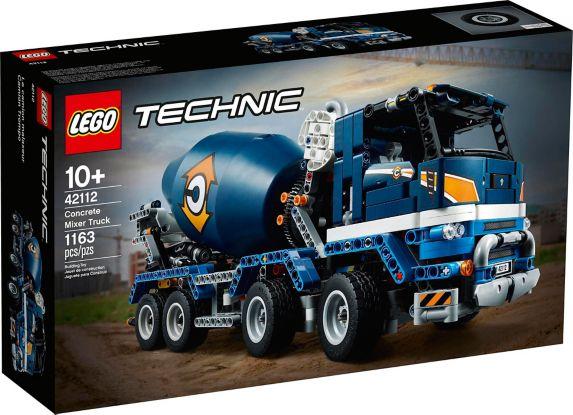 LEGO® Technic™ Concrete Mixer Truck - 42112