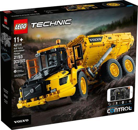 LEGO® Technic™ 6x6 Volvo Articulated Hauler - 42114