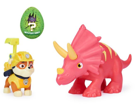 PAW Patrol Dino Rescue Dinosaur Action Figures Set, Assorted