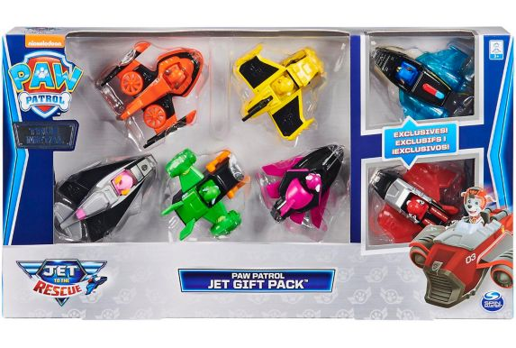 PAW Patrol True Metal Jet to the Rescue Vehicles Gift Pack