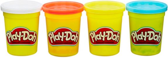 Play-Doh Modeling Compound, Assorted, 4-pk Product image