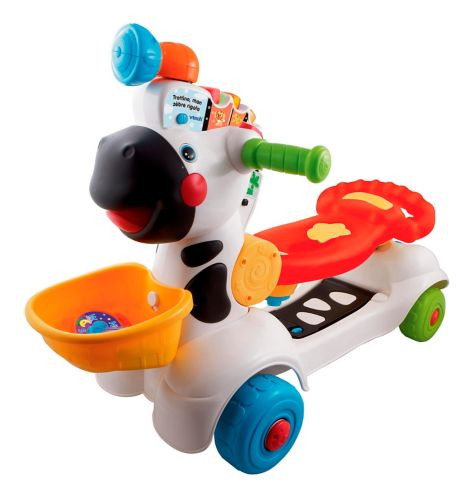 VTech® 3-in-1 Learning Zebra Scooter, French Product image