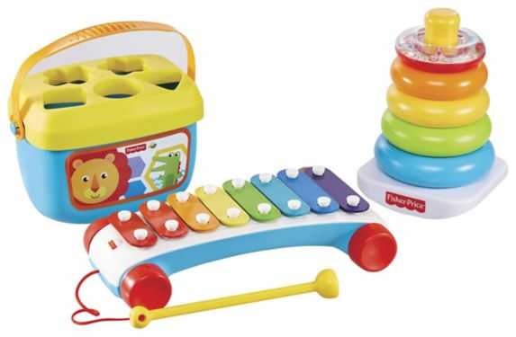 Fisher-Price® Classic Infant Trio Gift Set, 3-pc Product image