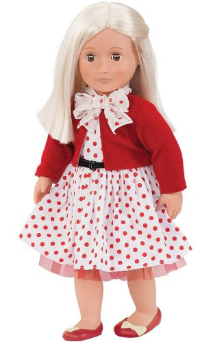 Our Generation Doll, Rose with Polka Dots