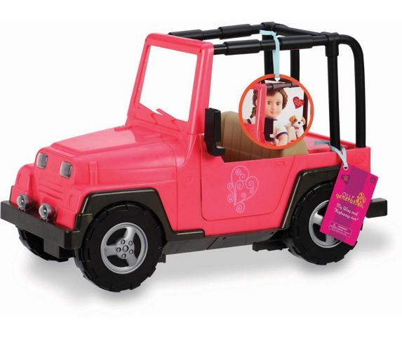 Our Generation Doll Vehicles, Jeep Product image
