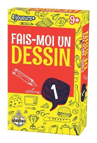 Jeu Fais-moi un dessin d'Editions Gladius, vol. 1, édition française