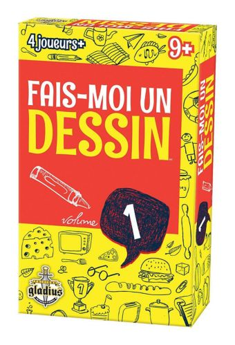 Editions Gladius Fais-moi un dessin vol. 1, French Edition Product image