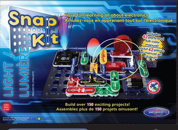 Snap Kits 150 Lights Electronics Discovery Kit Product image