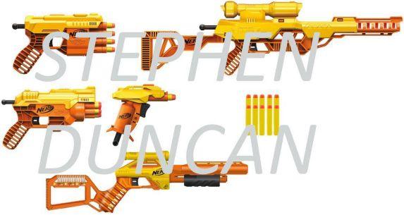 NERF Alpha Strike Blasters, 5-pk