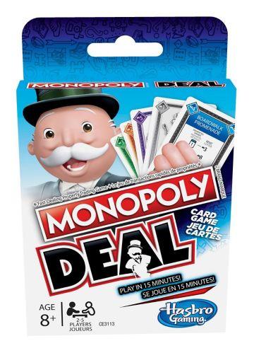 Jeu de cartes Hasbro Monopoly Deal Image de l'article