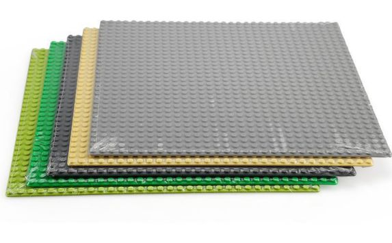 Dragon Blok Building Baseplate, Assorted, 10-in x 10-in