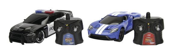 HyperChargers Remote Control Chase Twin Pack Toy Car