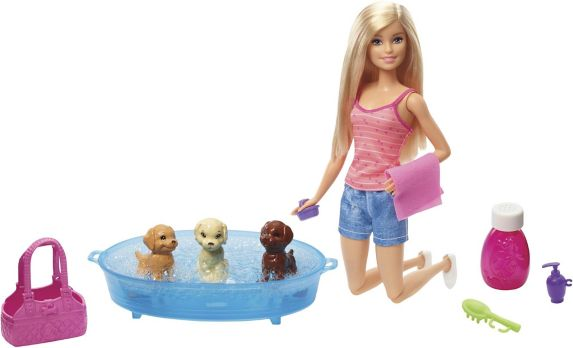 Barbie® Puppy Bath Time Playset, Assorted Product image