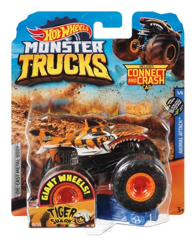 Hot Wheels®  1:64 Monster Trucks, Assorted