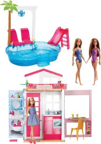 Maison avec piscine de Barbie