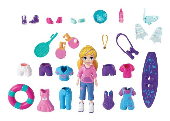Figurine et accessoires Polly Pocket, choix varié