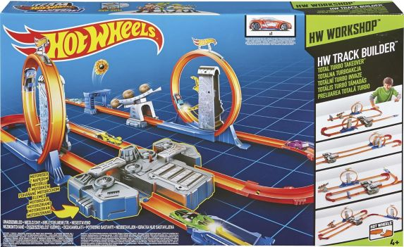 Hot Wheels® Track Builder Total Turbo Takeover™ Track Set Product image