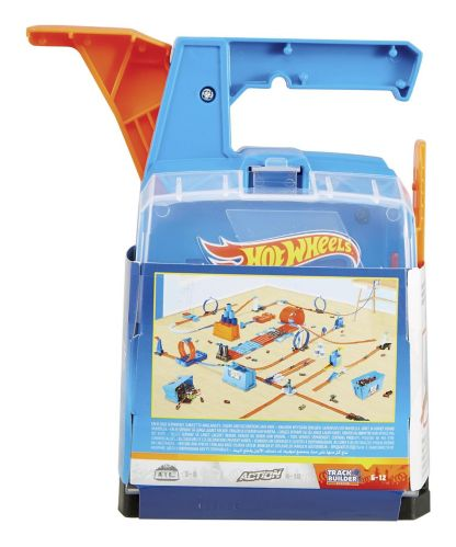 Hot Wheels® Track Builder Launch Box