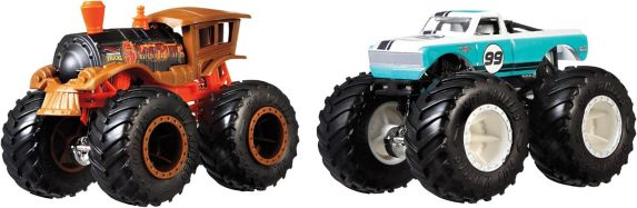 Hot Wheels® Monster Trucks 1:64 Scale Demolition Doubles Trucks Product image