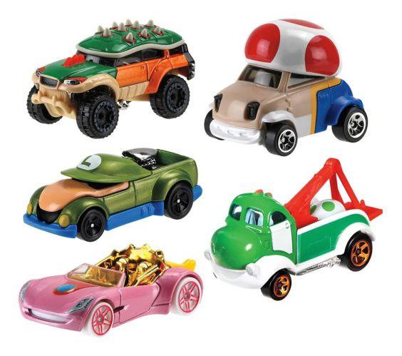 Hot Wheels® 1:64 Mario Kart™ Die Cast Vehicles, Assorted Product image