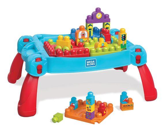 Mega Blocks Build'N Learn Table