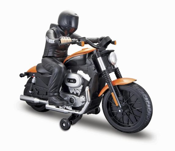 Remote Control Harley Davidson Motorcycle with Rider