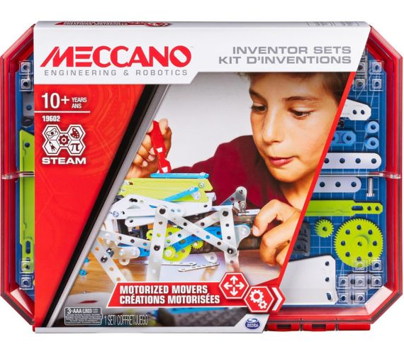 MECCANO Inventor Sets Motorized Movers S.T.E.A.M Building Kit, Set 5