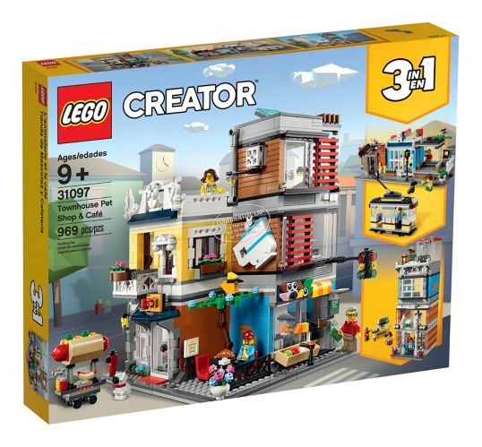 LEGO® Creator Townhouse Pet Shop and Café - 31097