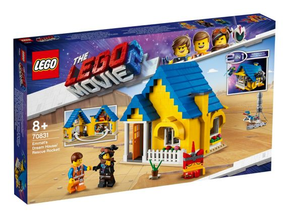 LEGO® THE LEGO® MOVIE 2™ Emmet's Dream House/Rescue Rocket! - 70831
