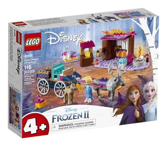 LEGO® Disney Frozen II Elsa's Wagon Adventure - 41166