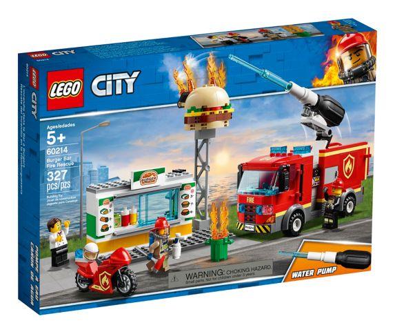 LEGO® City Burger Bar Fire Rescue - 60214