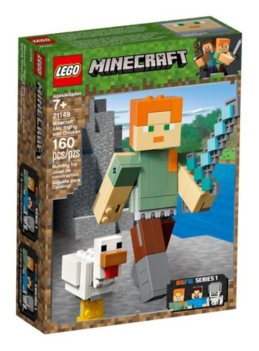 LEGO® Minecraft™ Alex BigFig with Chicken - 21149
