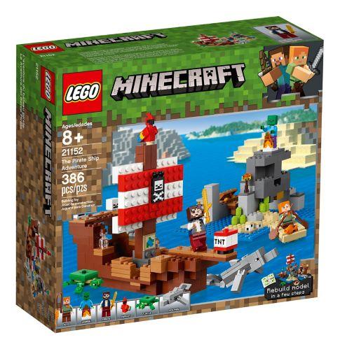 LEGO® Minecraft™ The Pirate Ship Adventure - 21152