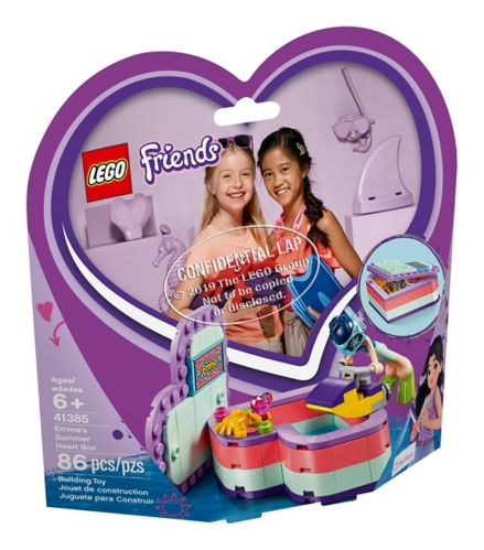 LEGO® Friends Emma's Summer Heart Box - 41385