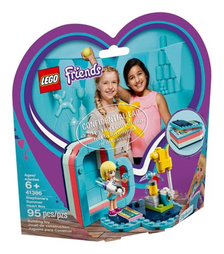 LEGO® Friends Stephanie's Summer Heart Box - 41386