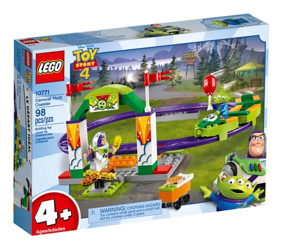 LEGO® Toy Story 4 Carnival Thrill Coaster - 10771
