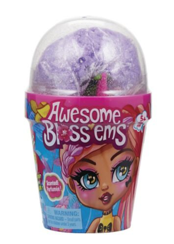 Awesome Bloss'ems Magical Growing Scented Collectible Dolls, Assorted