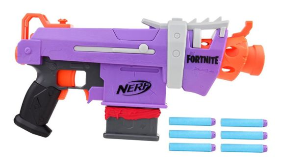 NERF Fortnite SMG-E Motorized Dart Blaster
