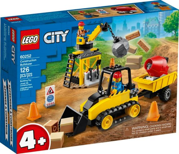 LEGO® City Construction Bulldozer - 60252