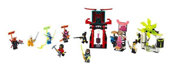 LEGO® NINJAGO® Gamer's Market - 71708