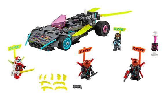 LEGO® NINJAGO® Ninja Tuner Car 71710 Building Kit (419 Pieces)